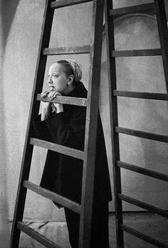 Frank Horvat - The '50s - Celebrities // 1956, Paris, Josephine Baker, singer