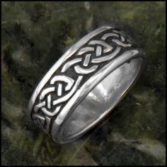 1d4d23fd77905 39 Best Sterling Silver Celtic Rings images in 2019 | Handmade ...