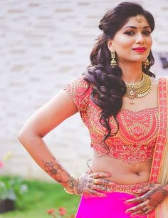 Browse photos, outfit & decor ideas & vendors booked from a real Telugu Intimate & Minimalist wedding in Bangalore. Indian Actress Images, Beautiful Indian Actress, Beauty Full Girl, Beauty Women, Indian Dresses, Indian Outfits, Big Indian Wedding, Indian Navel, Indian Bridal Fashion