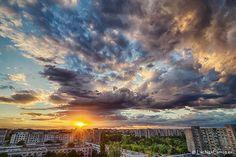 Apus de septembrie peste Bucuresti! Clouds, Outdoor, Outdoors, Outdoor Games, The Great Outdoors, Cloud