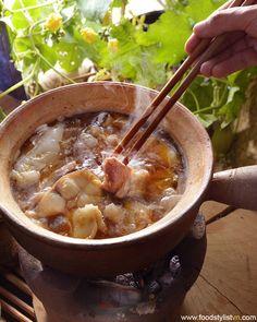 Vietnamese paste hot pot  | Clients: Phương Nam Book | Photograph by: Rong Vang | Food & Prop Stylist: Tiến Nguyên