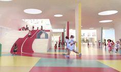 학교 건물 통과하는 400m 육상트랙 http://www.wikitree.co.kr/244132