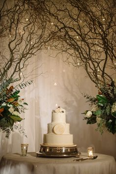 Jen Fariello Photography | Wedding Cake | Ashley & Bob's Keswick Hall Wedding | Charlottesville, VA