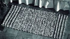 NEW! Quickie Rug crochet patterns from American Thread, Star Book 218.