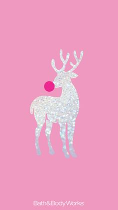 Bath & Body Works iPhone Wallpaper Reindeer