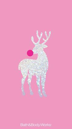 鹿のシルエット(ピンク/シルバー) | iPhone12,スマホ壁紙/待受画像ギャラリー