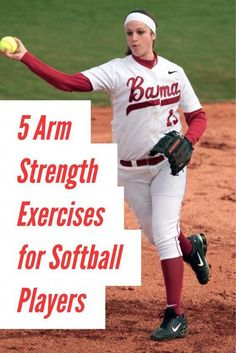 Learn how to increase velocity, stamina and decrease arm pain in this article with simple arm strengthening exercises for softball players. Softball Workouts, Softball Drills, Softball Coach, Girls Softball, Softball Players, Fastpitch Softball, Softball Stuff, Softball Things, Softball Treats
