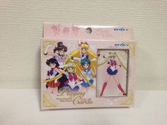 Sailor Moon 20th Playing Card Rare 2016 Uranus Neptune Taxed Mask Sailor V