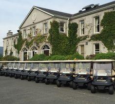 By upgrading its Club Car fleet Powerscourt Golf Club would like to improve customer experience. #clubcar #powerscourt