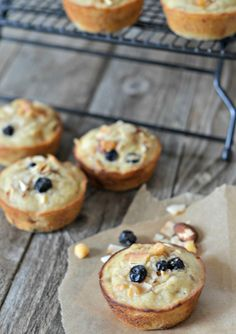 Skinny Banana Trail Mix Muffins | mountainmamacooks.com #snackbetter