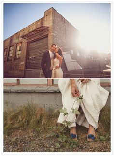 Awesome modern Seattle wedding. via 100 layer cake blog.