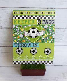 Doodlebug Design Inc Blog: GOAL! Collection: Soccer Mania by Silvia