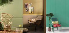 Quer trocar a cor da parede? Verdes e dourado são tendências para 2016