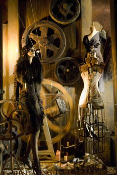 Dell & Douglas Little Team With Bergdorf Goodman ++ window DISPLAYS