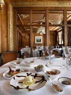 """Hotel de Charme les Airelles: Restaurant """"Pierre Gagnaire pour Les Airelles"""""""