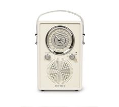 Designed for portability, the Crosley Mockingbird Radio is ready to tag along on your next adventure. This AM/FM radio and Bluetooth speaker features an AC adapter and optional battery power. With its dial and honeycomb backsplash, it… Radios, Pottery Barn, Cool Bluetooth Speakers, Outdoor Speakers, Vintage Vibes, Memorable Gifts, Shopping Hacks, Special Gifts, How To Memorize Things