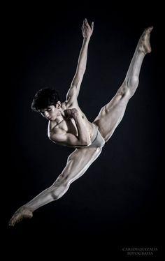 exguyparis: Marcos Barreiro - Escuela Nacional de Danza Clásica y Contemporánea México – photo by Carlos Quezada