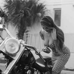 "hotrodzandpinups: "" Biker Babe Wednesdays @ HRP """