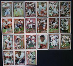 1991 Topps Tampa Bay Buccaneers Team Set of 21 Football Cards Football Cards, Baseball Cards, Tampa Bay Buccaneers, History, Historia, Soccer Cards, History Activities