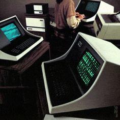 Old computers #gif #glitch #retro