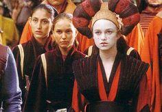 Sabe  handmaiden to Queen Amidala and Decoy Queen in times of Danger