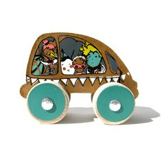 circus car - like the concept as much as the product - fidoodle via chezbeeperbebe
