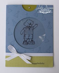 Julie's Stamping Spot -- Stampin' Up! Project Ideas Posted Daily: Magic Card Tutorial