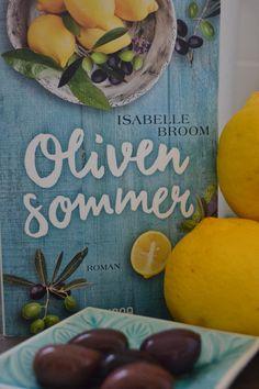 Buch zum Sommer: Olivensommer von Isabelle Broom