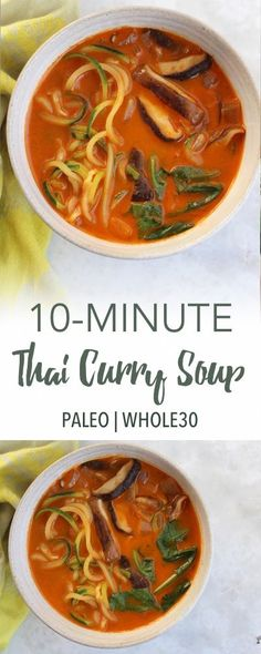 Thai Red Curry Soup   Empowered Sustenance