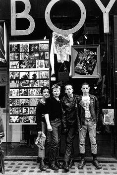 Boy clothing, London