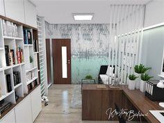 Návrh interiéru pracovne Keď práca teší, pohľad na vstup Divider, Study, Furniture, Home Decor, Homemade Home Decor, Studio, Home Furnishings, Learning, Research
