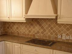 Harlequin travertine love for kitchen backsplash New house
