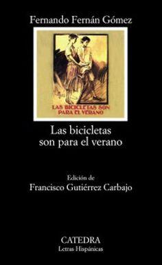 """EL LIBRO DEL DÍA:  """"Las bicicletas son para el verano"""", de Fernando Fernán-Gómez.  ¿Has leído este libro? ¿Nos ayudas con tu voto y comentario a que más personas se hagan una idea del mismo en nuestra web? Éste es el enlace al libro: http://www.quelibroleo.com/las-bicicletas-son-para-el-verano ¡Muchas gracias! 29-4-2013"""