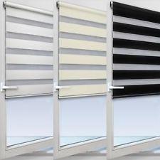 Jalousie Doppelrollo Duo-Rollo Fensterrollo Balkonrollo Sichtschutz Sonnenschutz