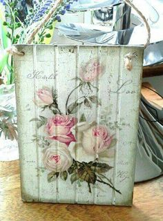 Decoupage Board
