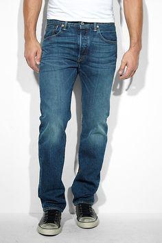 Levi 100% katoen heren jeans 501 hook nu voor € 79,95