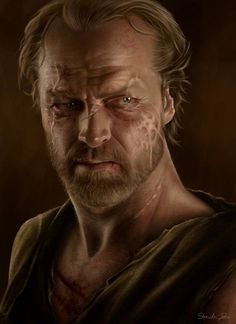 Jorah Mormont - Game of Thrones - Sheridan Johns
