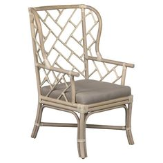 "Tahiti Rattan Arm Chair | Joss & Main | 27""w x 31""d x 42""h 