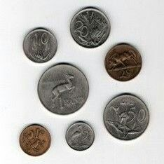 South African coins from back in the day.the coins of my childhood. You could buy Chappies Bubblegum with the half-penny piece Out Of Africa, Old Coins, My Land, Do You Remember, African History, Pretoria, The Good Old Days, South Africa, Memories