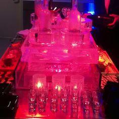 Caviar, Champagne and Vodka.