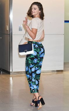 Miranda Kerr from The Big Picture: Today's Hot Photos  The model is seen at Narita International Airport in Japan.