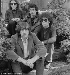Velvet Underground: Lou Reed, Sterling Morrison, Maureen Tucker and Doug Yule