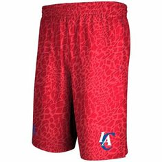 adidas Los Angeles Clippers Crazy Light Shorts - Red