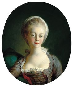 Portrait of a Young Lady Jean-Honoré Fragonard (French, Oil on canvas. The portrait must depict a specific model, yet has the informality of a. Rembrandt Portrait, Jean Antoine Watteau, Franz Xaver Winterhalter, Jean Honore Fragonard, Portraits, Oil Painting Reproductions, French Art, French Rococo, Art Studies