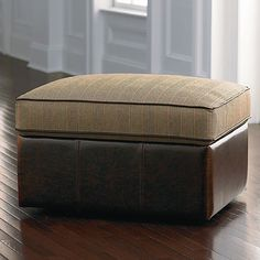 HGTV HOME Custom Storage Ottoman #bassettfurniture #ottoman