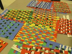Ideas Collection Kente Cloth Strips Lesson Plan Multicultural Art and Craft Lessons for Kindergarten Art History Lessons African Art For Kids, African Art Projects, Paper Weaving, Weaving Art, Art Lessons Elementary, Lessons For Kids, Africa Craft, Weaving For Kids, Kindergarten Lesson Plans