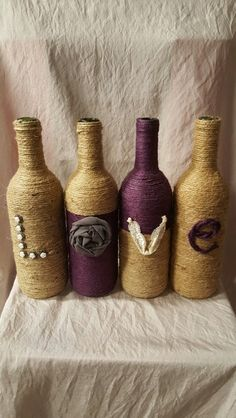 LOVE twine bottle set