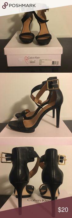 Calvin Klein snakeskin heels Calvin Klein snakeskin heels Calvin Klein Shoes Heels