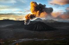 Bromo is an active volcano and part of the Tengger massif, in East Java, Indonesia.