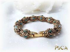 Beaded bracelet by Puca. Karel